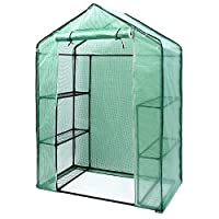 Plant Grow Tent, Ohuhu Mylar Hydroponic Plant Growing Tent for Indoor Gardening and Germination, Black