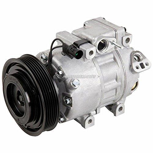 Hyundai A/c Compressor - AC Compressor & A/C Clutch For Hyundai Sonata Santa Fe Azera Veracruz Kia Optima Amanti - BuyAutoParts 60-02296NA NEW