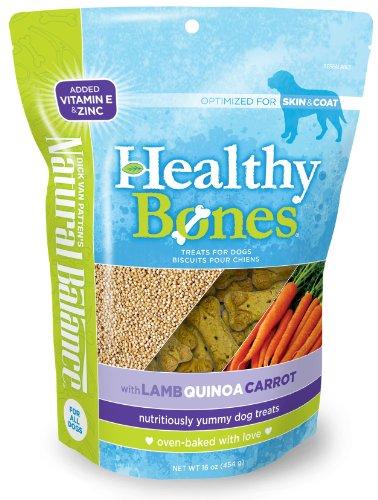 Natural Balance Healthy Bones Treats with Lamb, Quinoa, Carrot for Dogs, 16-Ounce Bag, My Pet Supplies