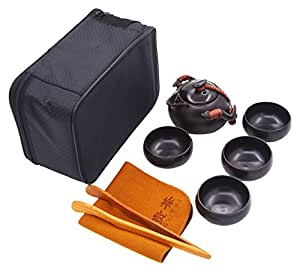 vegali tradicional chino Manual manualidades Kungfu/gongfu portátil de viaje juego de té