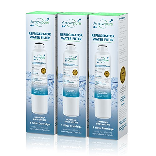 Price comparison product image Arrowpure Refrigerator Water Filter Replacement for Samsung DA29-00020B,  DA29-00020A,  HAF-CIN / EXP,  HAF-CIN EXP,  HAF-CIN-EXP,  HAF-CINEXP,  46-9101,  3 Pack