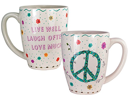 Live Well, Laugh Often, Love Much..... 12 Once Mug