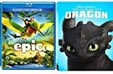 How to Train your Dragon & Epic Cartoons from the creators of Ice Age DVD Animated Set