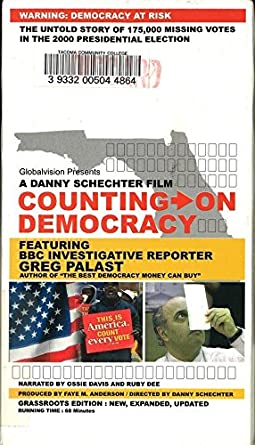 Amazon com: Counting On Democracy: The Untold Story Of