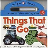 Wipe Clean Things That Go