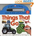 Wipe Clean Things That Go (Wipe Clean Learning Books)