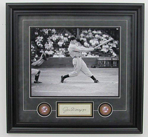- Joe DiMaggio Autographed Photo - Framed 11x14 B W 140601 - JSA Certified - Autographed MLB Photos