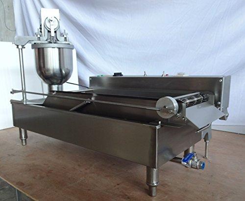 Kolice Electric Heating Automatic Doughnut Making Machine/Frying Doughnut Maker/Frying Donuts Maker/Donuts Making Machine/Frying Donut Making Machine/Frying Donut Maker for Street Food,Restaurant by Kolice (Image #2)