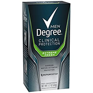 Degree Men Clinical Antiperspirant, Extreme Fresh 1.7 oz, Pack of 2