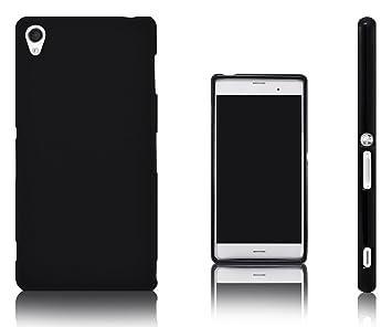 Xcessor Vapour Funda Carcasa de TPU Gel Flexible para Sony Xperia Z3. Negro
