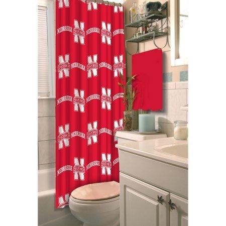(NCAA University of Nebraska Decorative Bath Collection - Shower)
