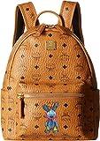 MCM Unisex Rabbit Backpack Small Cognac SM