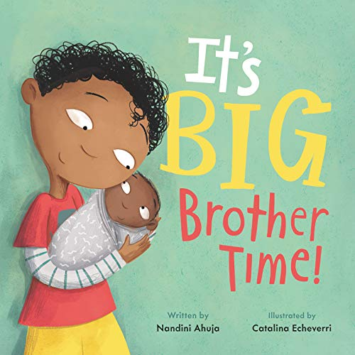 Book Cover: It's Big Brother Time!
