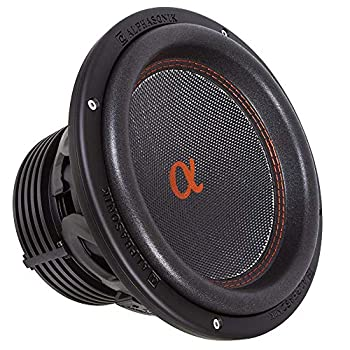 """Image of Alphasonik DSW510 Dynamis 500 Series 10"""" 2100 Watts Max / 700 Watts RMS Dual 4 Ohm Car Subwoofer Die Cast Aluminum Basket w/ Double Stacked Magnets Carbon Fiber Cone Cooling Rings System Sub Woofer"""