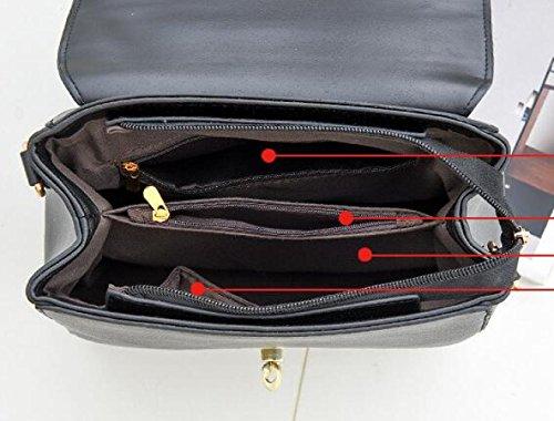 Hand Hebilla Señora Magnética Impresión Bag Bolsos D Bag Bolsos Moda JPFCAK Elegante Hombro Crossbody De De Ms La 5FUqg