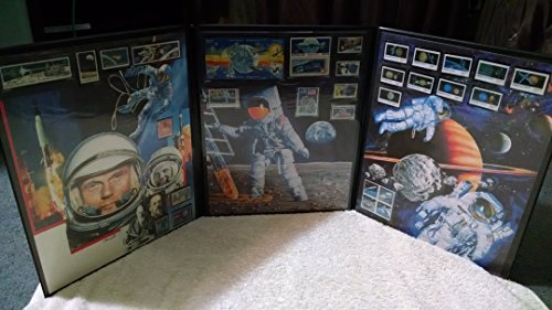 (Space Exploration and Apollo Moon Landing Mint Stamp Set Complete)