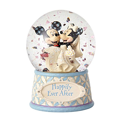 - Enesco Disney Traditions Mickey and Minnie Wedding Waterball