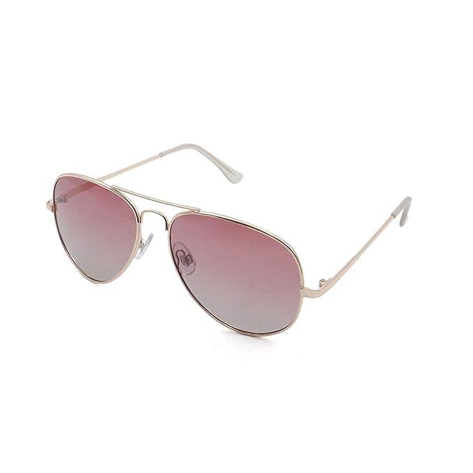 Ocean Sunglasses Banila aviator - lunettes de soleil en Métal - Monture : Doré - Verres : Rose (18110.12) onWR12