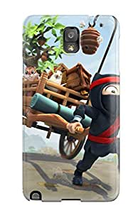 Alicsmith TzTOORn9552WYANP Case Cover Skin For Galaxy Note 3 (clumsy Ninja)