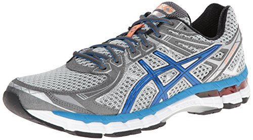 ASICS Men's GT 2000 2 Running Shoe,Titanium/French Blue/Lightning,13 M US