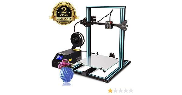Impresora 3D A8 Prusa I3 DIY Desktop 3D Printer, Impresión rápida y de alta precisión de modelos 3D (120 mm/s), Impresora con 1.75 mm ABS/PLA (A10s)