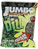JUMBO SUNFLOWER SEEDS Sunflower Seeds, Dill, 6-Ounce (Pack of 12)