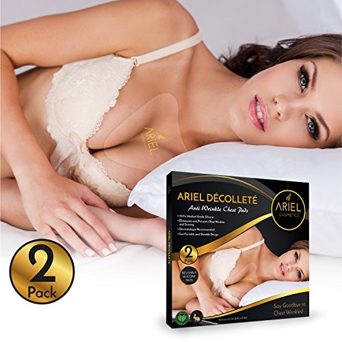 Purchase low price Anti-Wrinkle Chest Pads Pack Decollete Pad for Wrinkles Set Silicone Wrinkles,