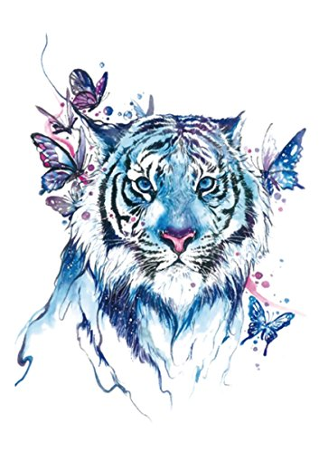 (butterfly tiger blue large 8.25