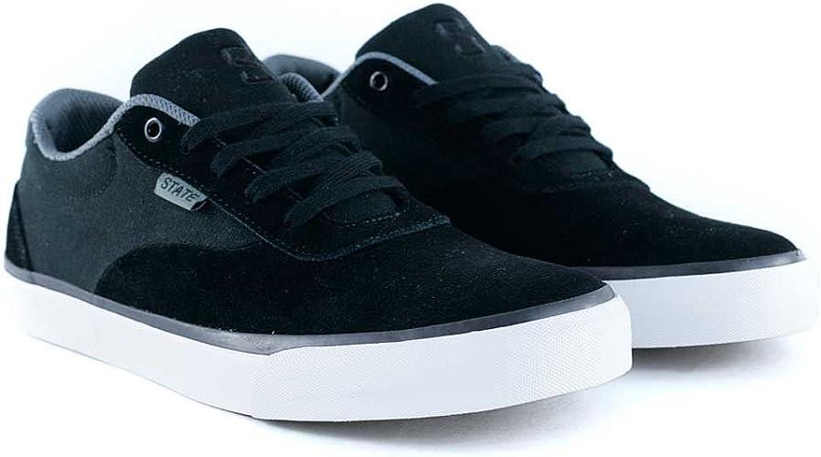 State Footwear Madison Black Pewter
