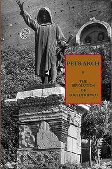 Book The Revolution of Cola di Rienzo by Francesco Petrarca (2008-09-29)