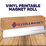 Flexible Magnets 24''x5 feet .30mil Super Strong Flexible Material