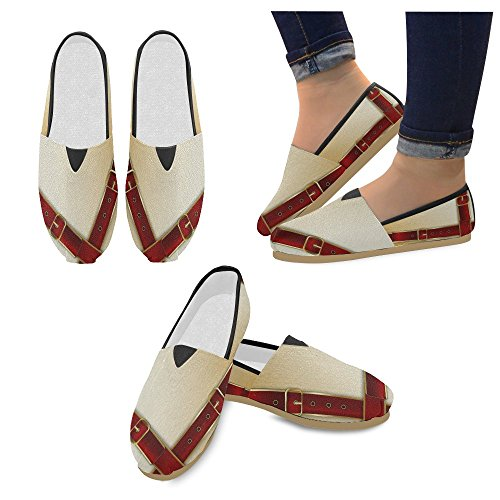flower Casual jeans Buckles Loafers for InterestPrint Women Men Shoes Belts With tZd5wnnxq