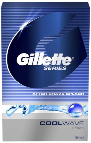 Gillette Series Cool Wave After Shave Splash - 50 ML