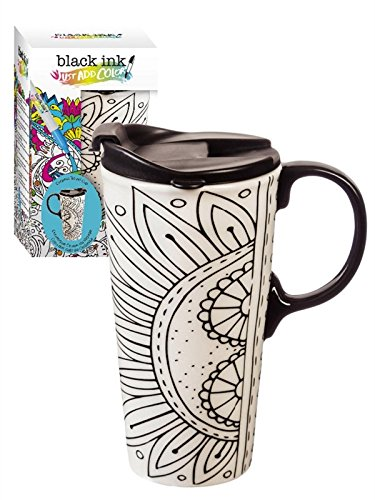 Flower Travel Mug - 2