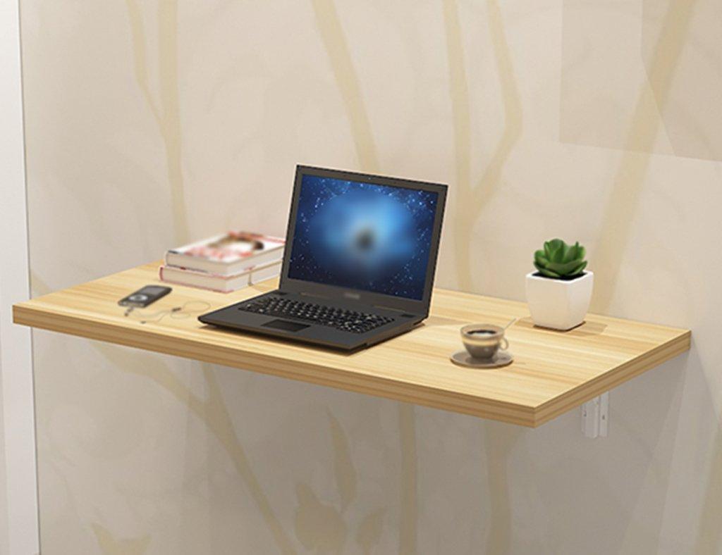 Anna Massivholz Wand Tisch Falttisch Esstisch Wand Tisch Einfach Falttisch Größe Optional (größe : 60 * 30cm)