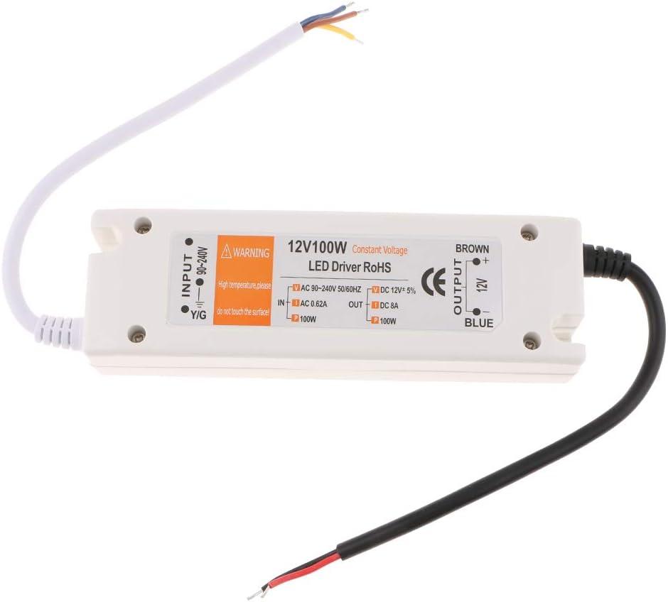 D DOLITY Transformateur Electronique de 220V /à 12V pour Lumi/ère Halog/ène 100W