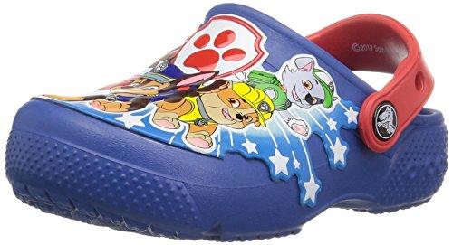 Crocs Boys' Crocsfunlab Pawpatrol K Clog, Blue Jean, 11 M US Little Kid