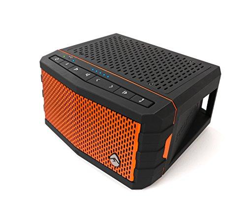 Grace Digital ECOXGEAR EcoJam Portable Bluetooth Speaker Orange GDI-EXEJ300