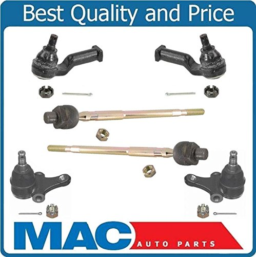 Mac Auto Parts Ball Joints Tie Rod Ends All New Fits for Mazda MX5 Miata 90-03 with Manual Steering