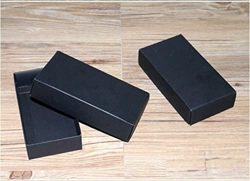 2f0918558b1f Amazon.com: Ranggrgt 10 Sizes Kraft Black White Gift Packaging Box ...