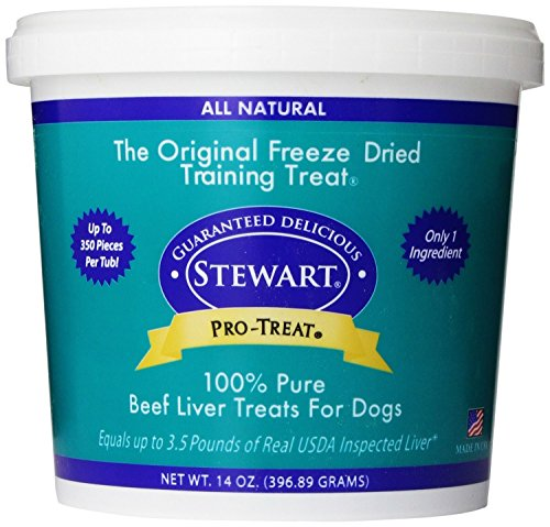 Stewart's Pro-Treat Bag Freeze Dried Dog Treats - 14 (Pro Treat Liver)