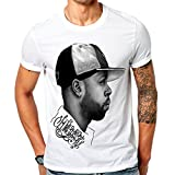 Mazumi8 J Dilla Hat Rap Hiphop T-Shirt Size L White
