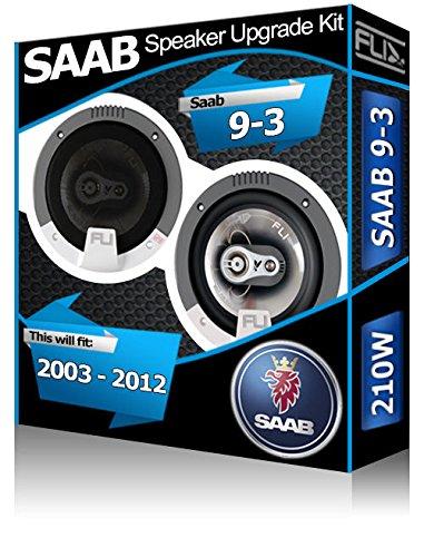 Fli Audio Saab 9.3 Vordert/ür-Lautsprecher 210/W Auto-Lautsprecher-Set