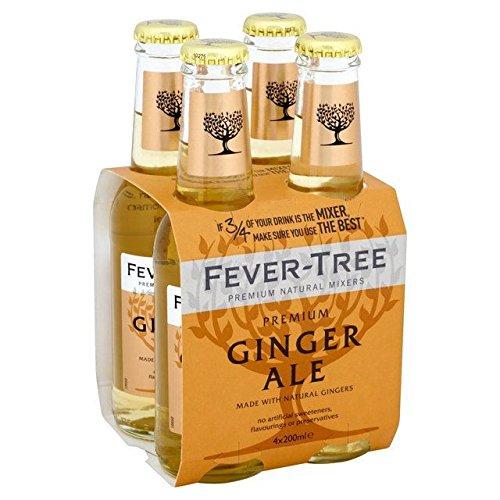 Fever-Tree Premium Ginger Ale - 4 x 200ml (27.05fl ()