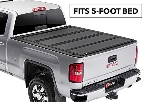 BAKFlip MX4  Hard Folding Truck Bed Tonneau Cover | 448126 | fits 2015-19 GM Colorado, Canyon 5' bed ()