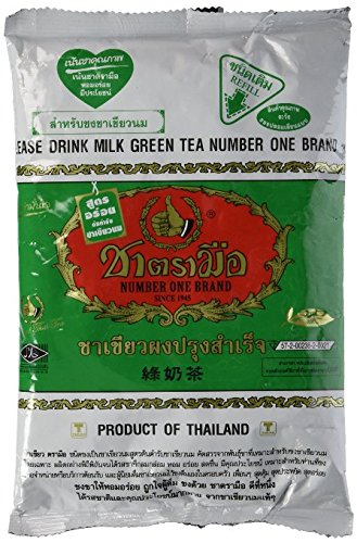 Thai Milk Green Tea Number One Brand 200g X 100pack by Number-One