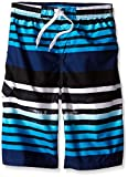 Kanu Surf Big Boys' Reflection Quick Dry Beach Swim Trunk, Navy, Medium (10/12): more info