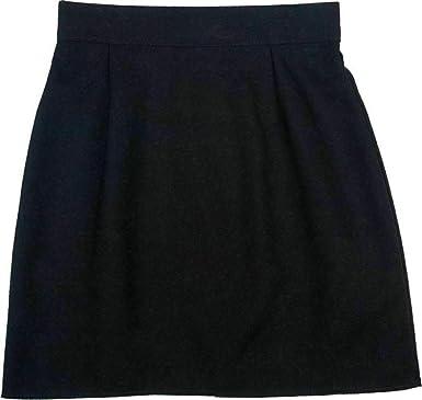 Style Wise - Falda de Uniforme Escolar para Mujer Negro Negro ...