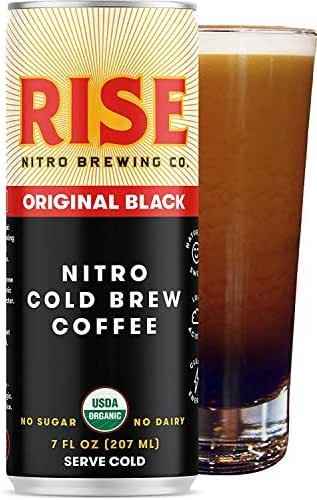 Coffee Drinks: RISE Nitro Cold Brew Coffee