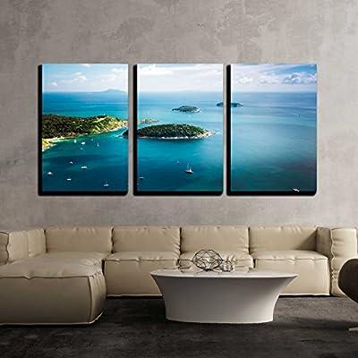 Tropical Ocean KOH Kaeo Island Wall Decor x3...